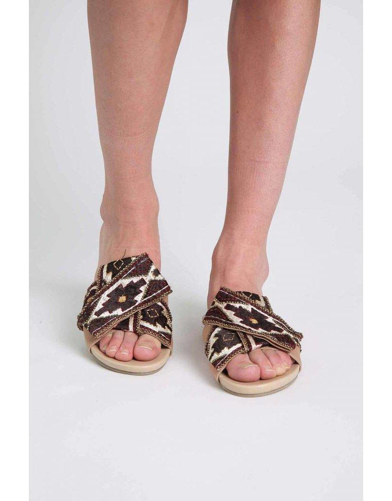 Ne Quittez Pas Belt Sandals