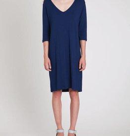 Majestic Mills V-Neck Mini Dress
