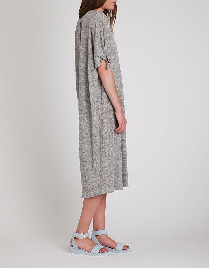 Velvet Anwen Knot Sleeve Dress