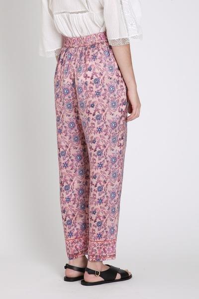 masscob Rose Print Pants 715 SP17