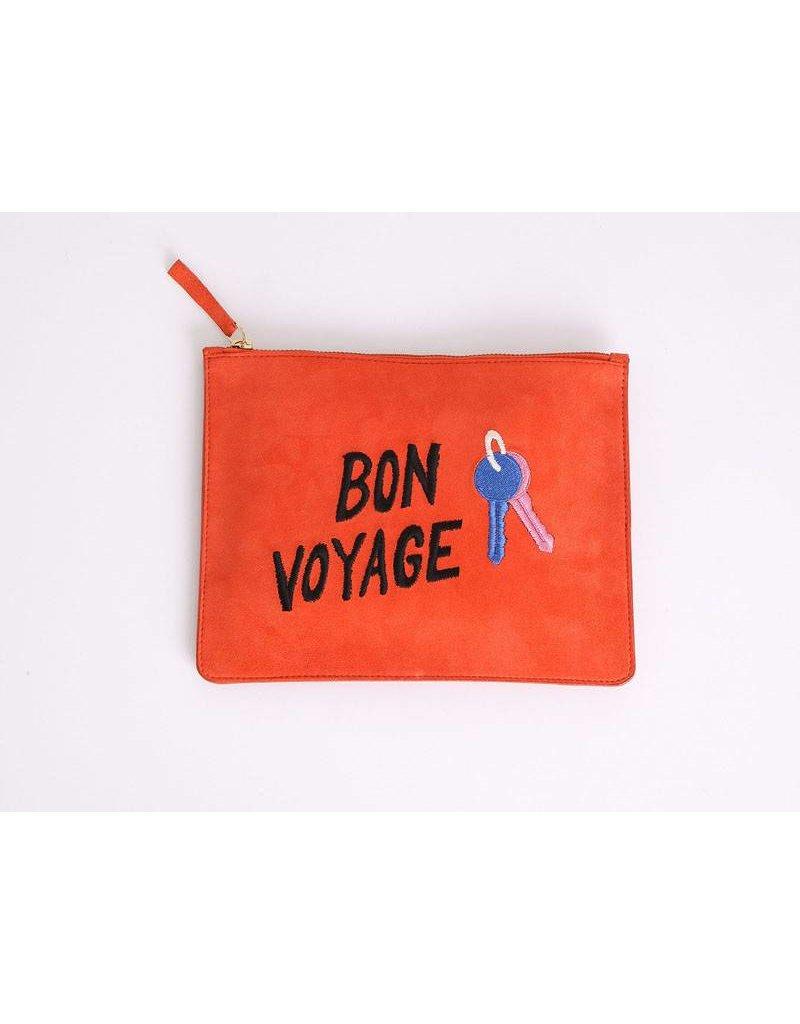 Bon Voyage Zip Pouch H16