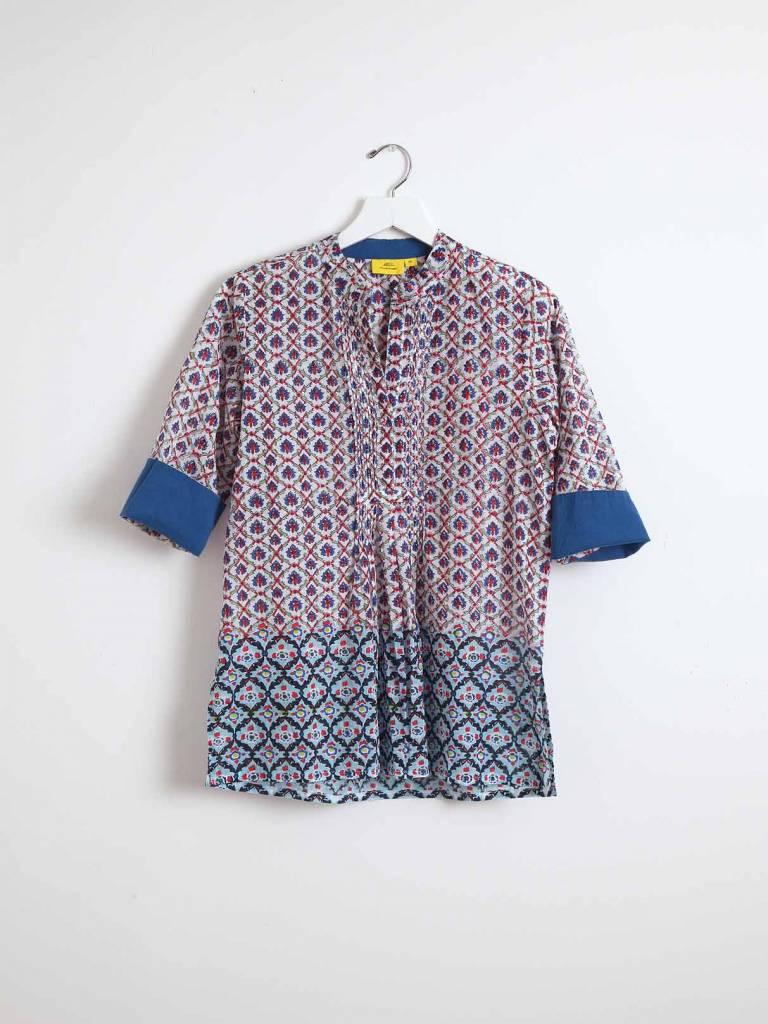 Roberta Roller Rabbit Arles Shirt Tapati Mix