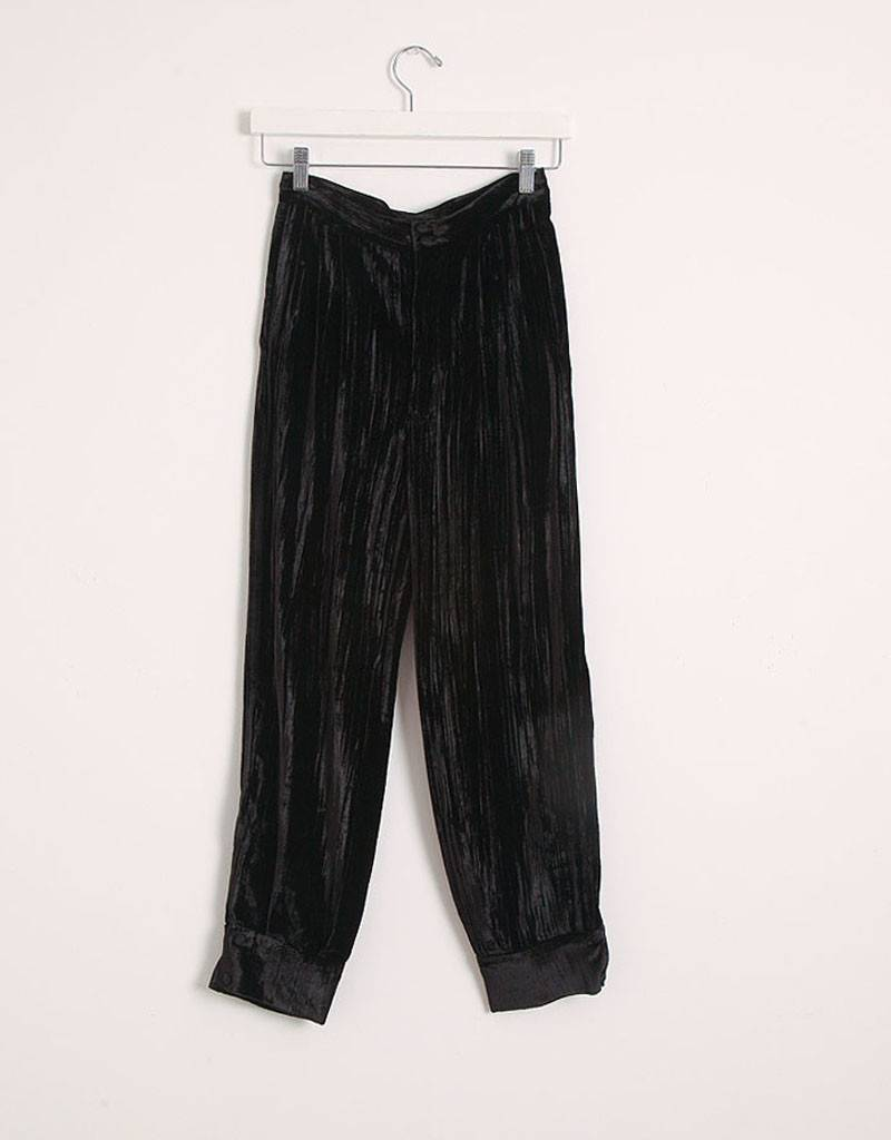 masscob Velvet Crop Pants