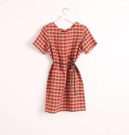 A.Cheng Sandra Plaid Dress