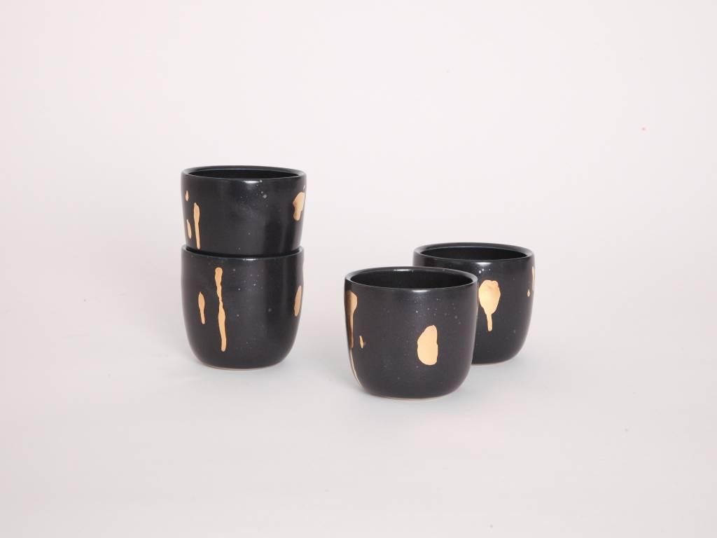 Metallic Cup - Black