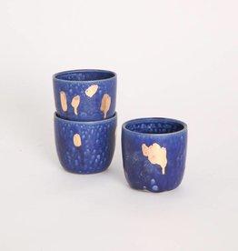 Metallic Short Tumblers - Blue