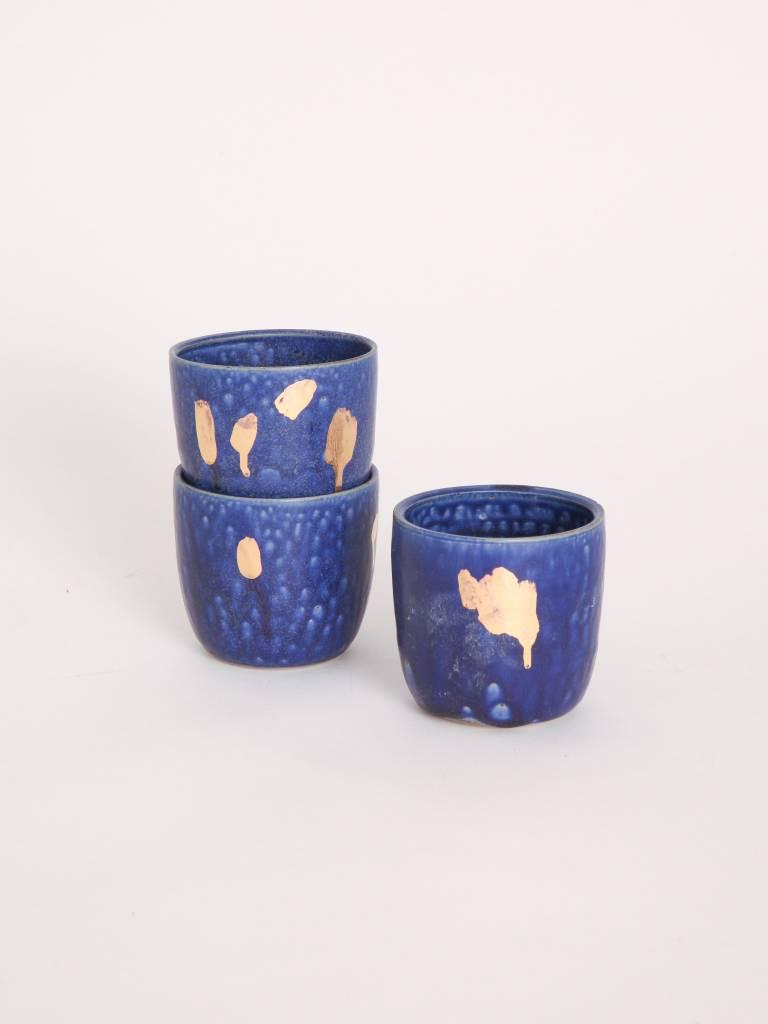 Metallic Cup - Blue