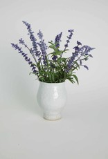 Alice Cheng Studio White Tulip Vase