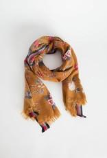 Inouitoosh Wool Gisele Scarf - Winter Saffron