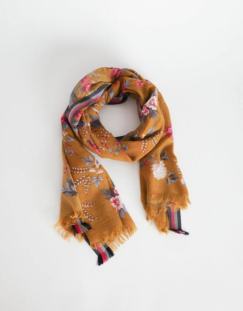 Inouitoosh Wool Gisele Scarf - Winter Saffron