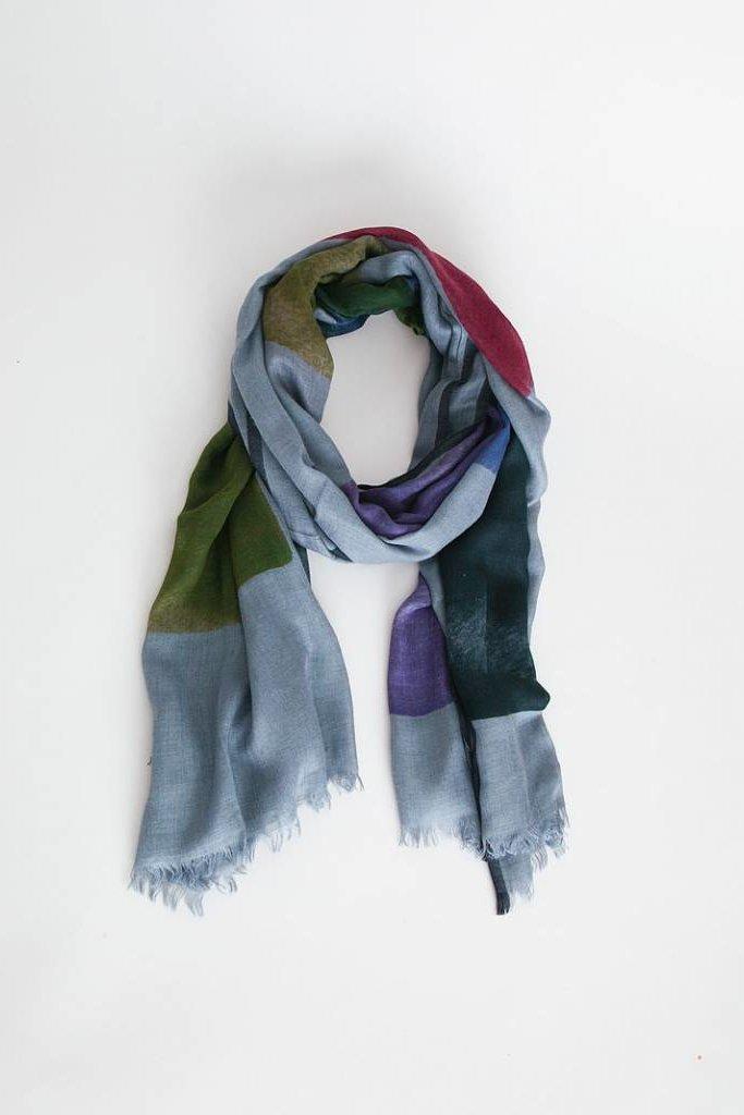 Inouitoosh Palette Scarf - Blue/Green