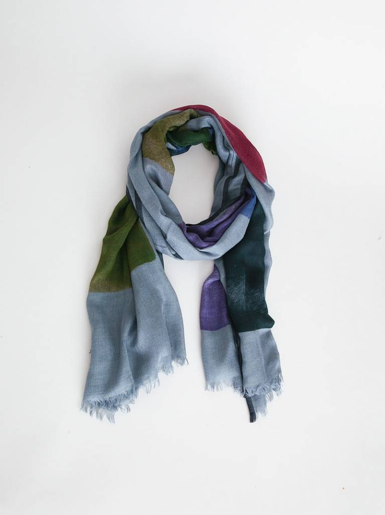 Inouitoosh Palette Scarf - Blue/Green