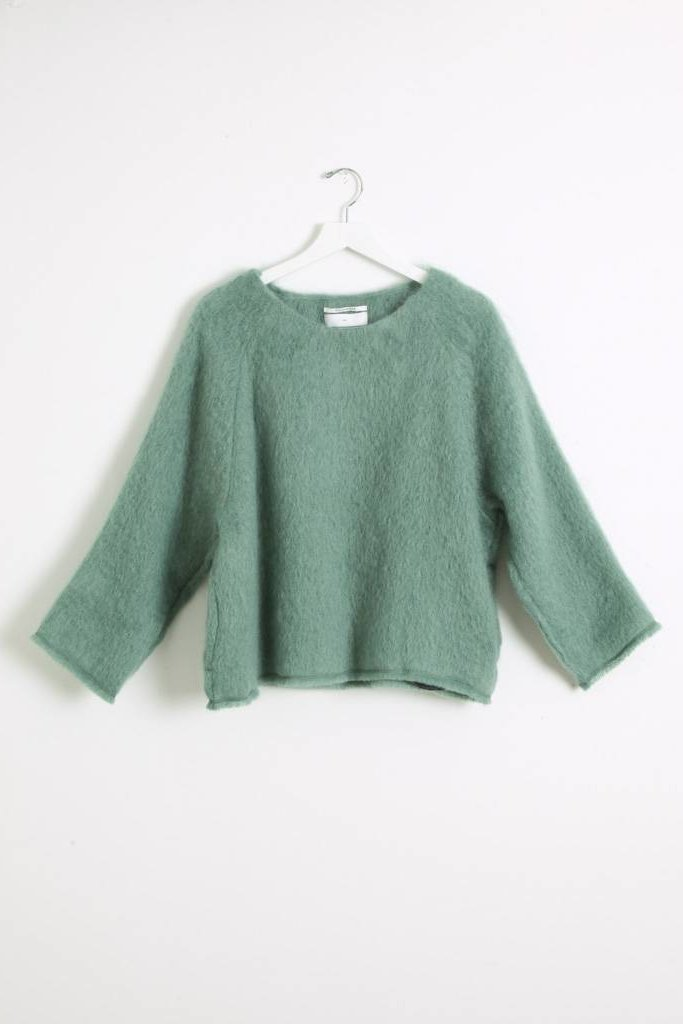 Pomandere Mint Pullover Top