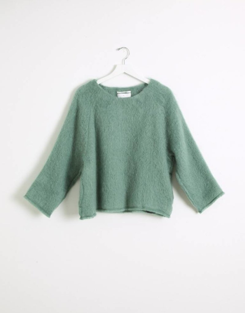 Pomandere Mint Pullover Top