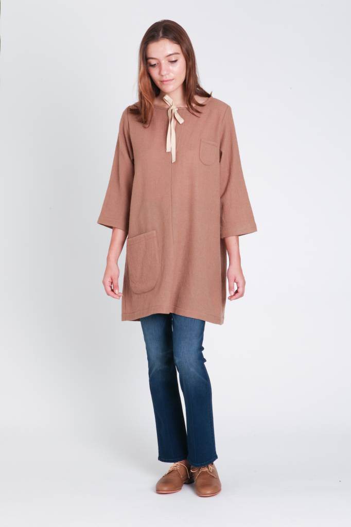 wrk-shp Tied Pocket Tunic