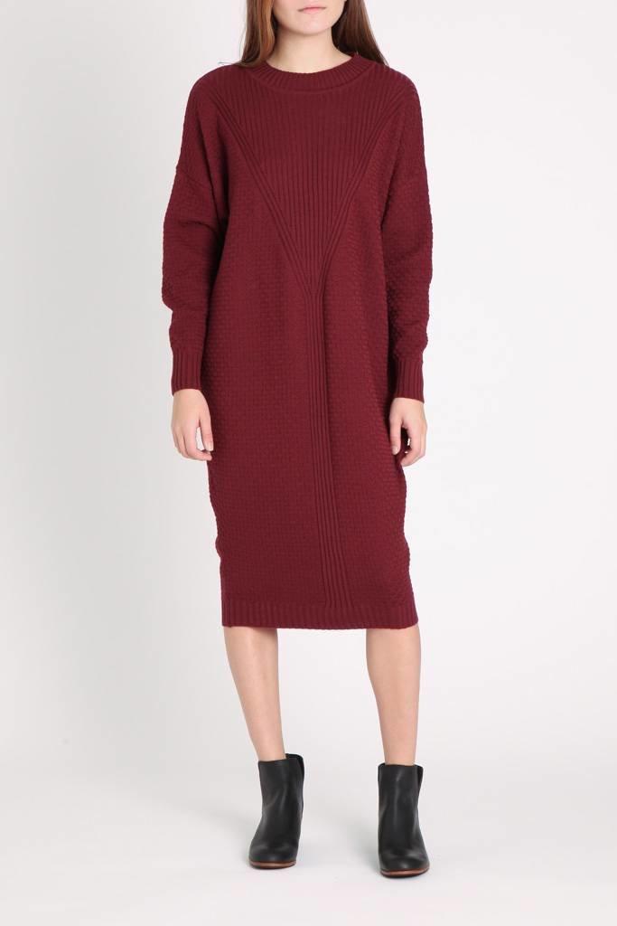 Diarte Calypso Dress Burgundy