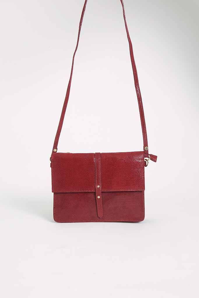 Petite Mendigote Soleil Split Bag - Cherry