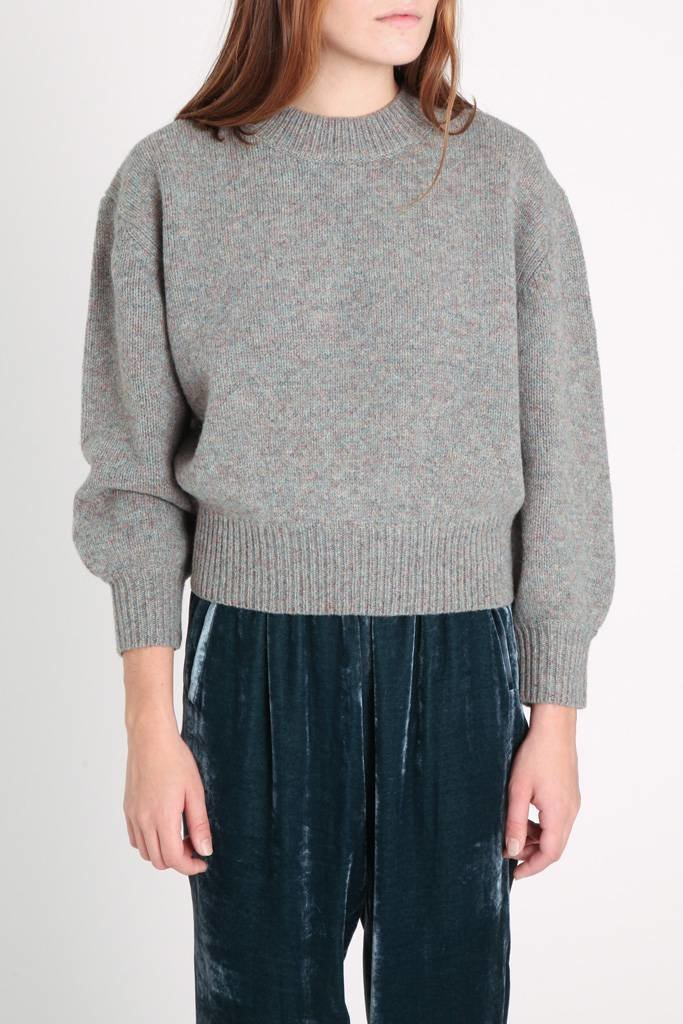 Demy Lee Mayda Scoop Neck Sweater
