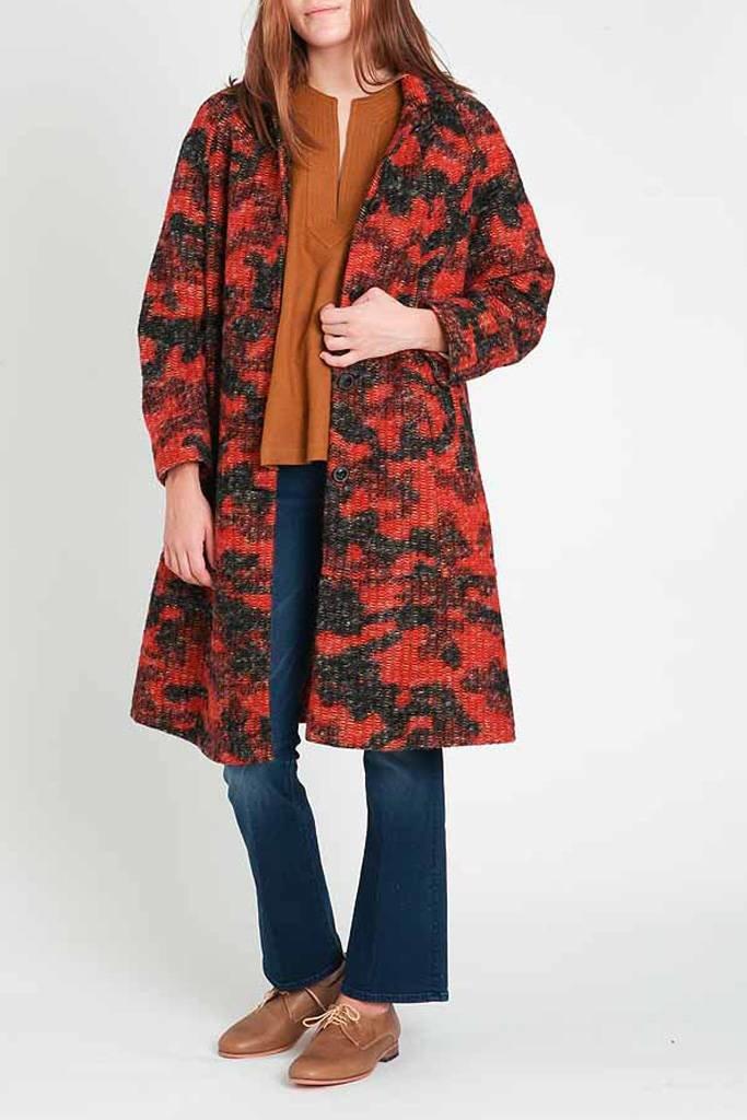 Bellerose Muchi Tweedy Coat