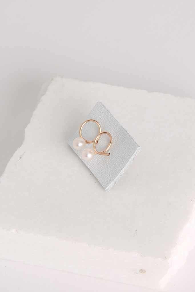 864 Pearl Earrings