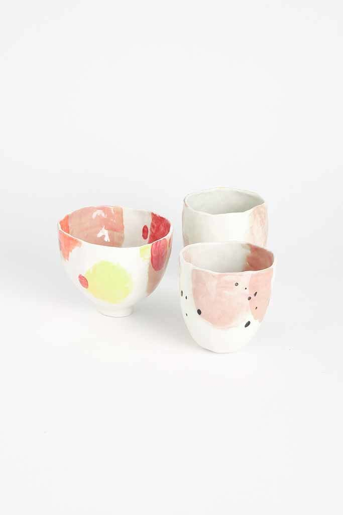 Alice Cheng Studio Painted Bowls Small Porcelain