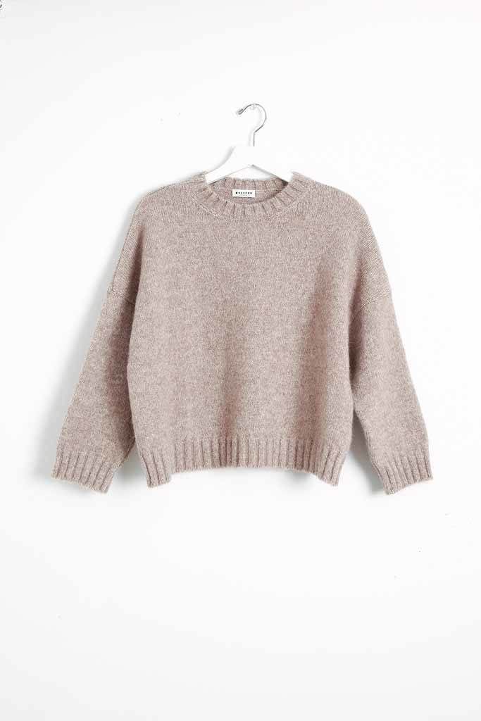 masscob Noisette Alpaca Sweater