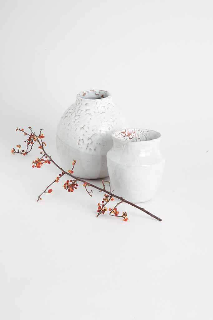 Alice Cheng Studio Round Winter Vase