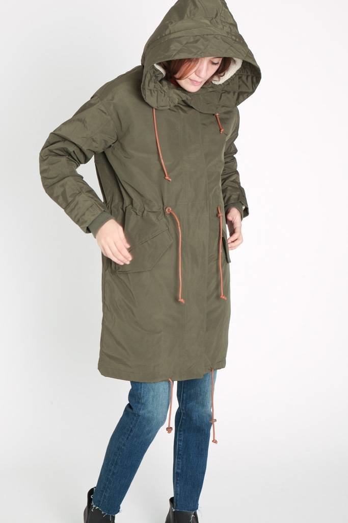 Sessun Wood Buffalo Hooded Parka