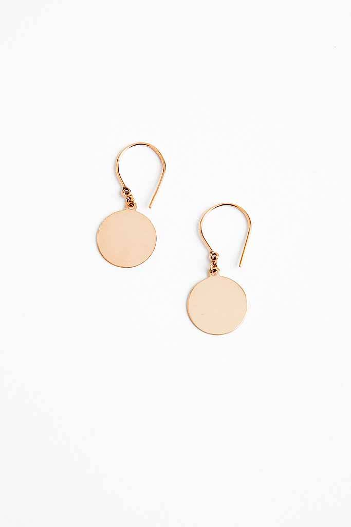 Devon Pavlovits Dot C Earrings GF
