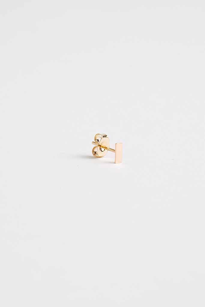 Still House Tili Stud Earring 14Kt Gold