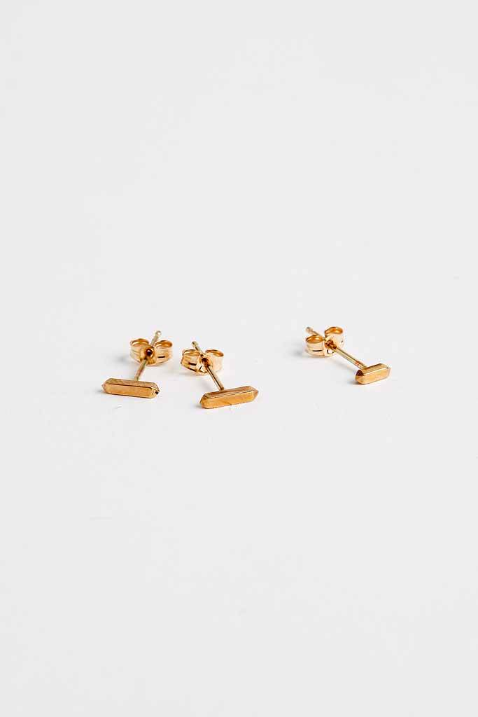 Rand Papele Octans Studs 14k Fill
