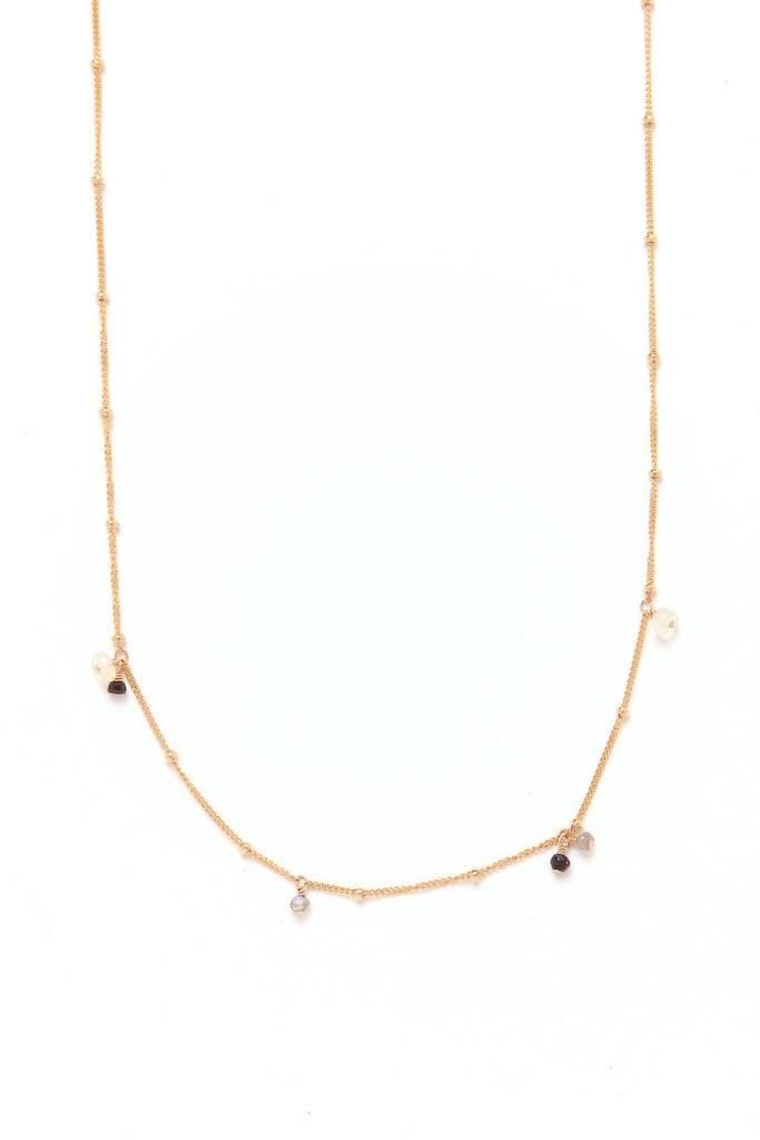 "Chibi Jewels Jupiter Opal Necklace GF -18"""
