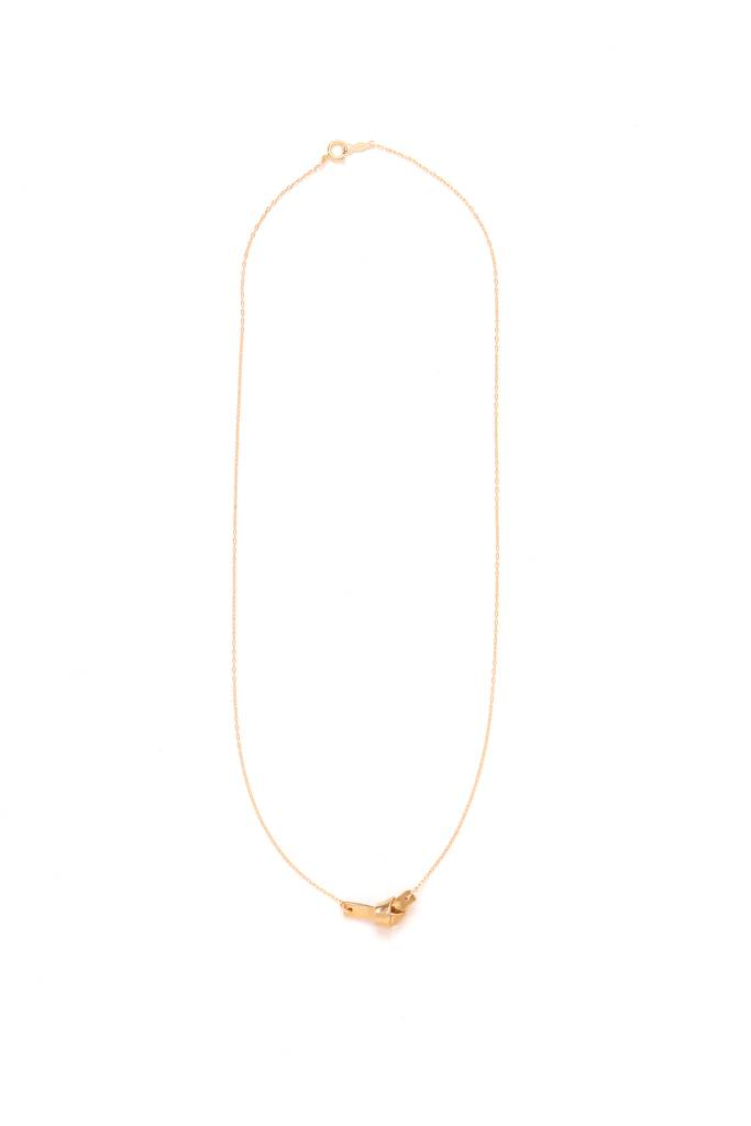 864 Brass Pendant Necklace