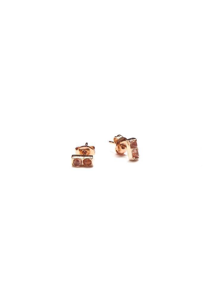 Merewif Doubles Earrings Sunstone