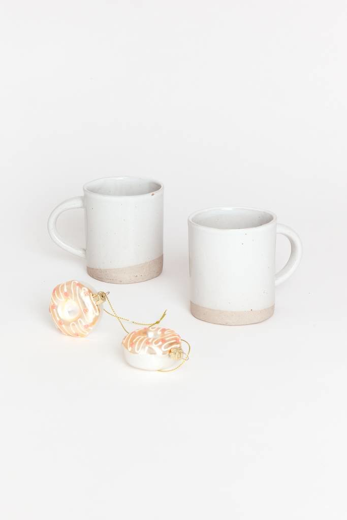 Alice Cheng Studio White Glazed Mug