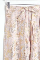 masscob Petal Pink Metallic Pants