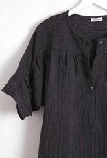 masscob Linen Fine Stripe Shirt