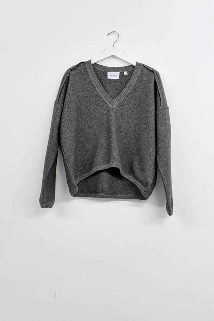 Sita Murt Heathered Grey Sweater