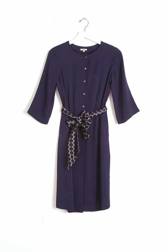 Bellerose Helico Dress - Navy