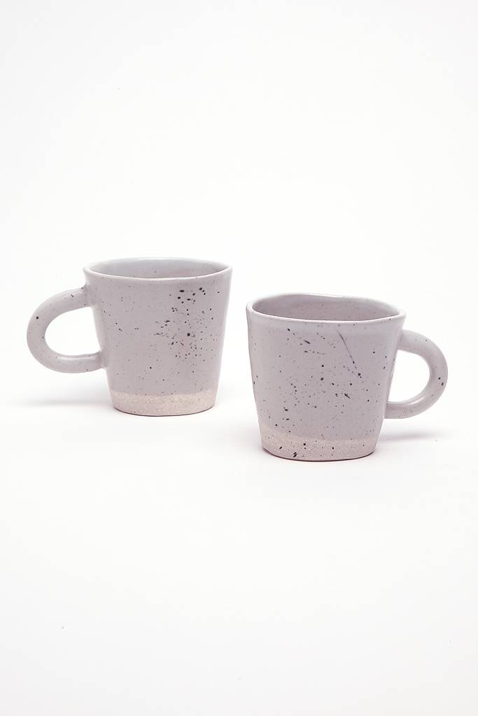 Alice Cheng Studio Grey Speckled Mug