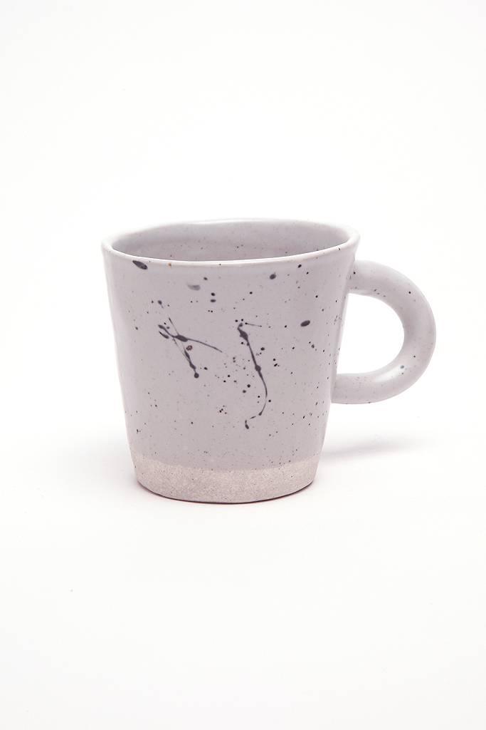 Alice Cheng Studio Grey Speckled Mug