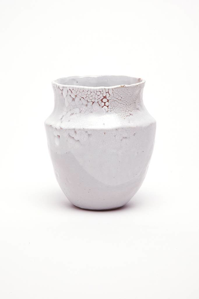 Alice Cheng Studio Grecian Vase White