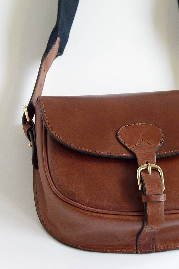 Soeur Cartouche Bag Cognac