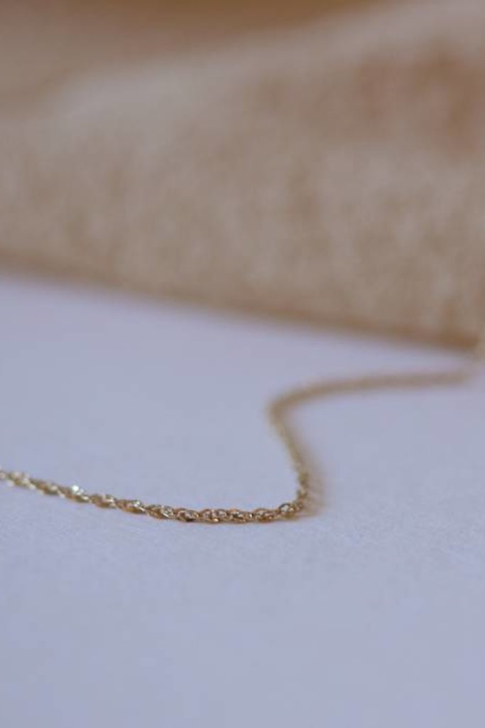 Gjenmi 14KT Gold Second Skin Chain