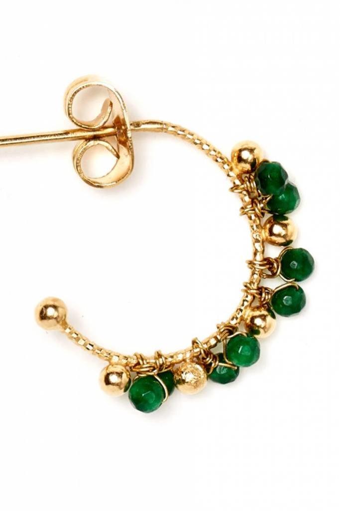 Polder Sunset Earrings 2 /Brass