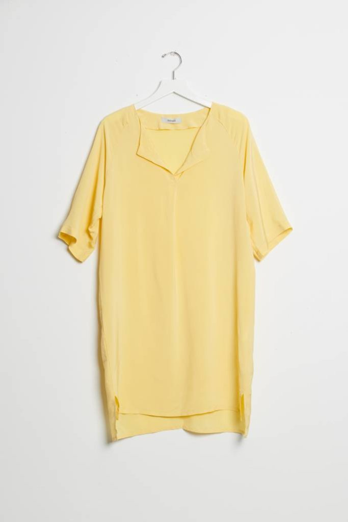 humanoid Bruun Dress - Lemon
