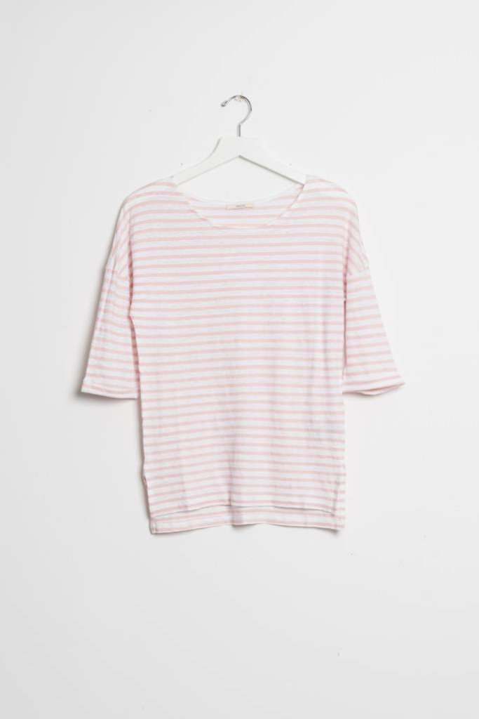 Honshu Tee Opticrosse Stripe