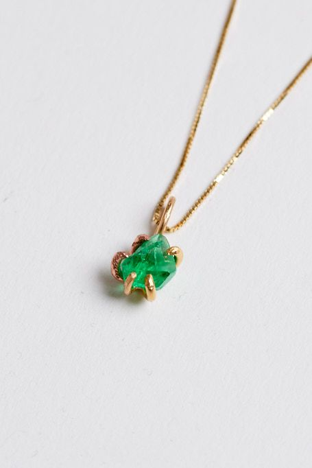 may mariana jewelry crystals necklace gaurdian birthstone products green guardian angel sheva emerald