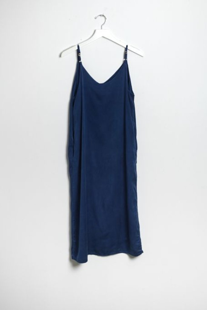 Colorant Silk Slip Dress