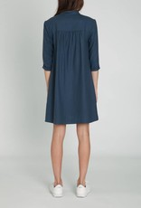 A.Cheng Safari Silk Noir Dress